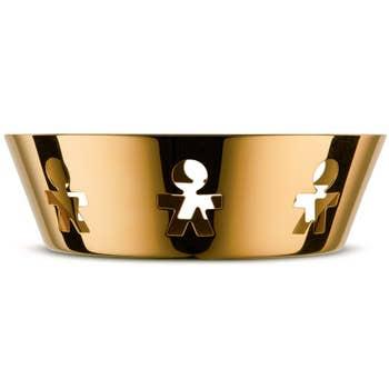 Girotondo Gold Round Basket