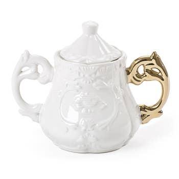 I-Wares Gold Sugar Bowl
