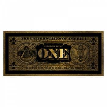 One Dollar AluArt