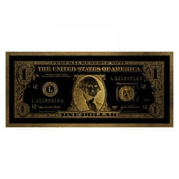 Dollar Washington Wall Art