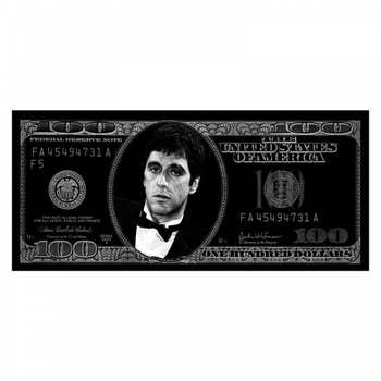 Dollar Scarface Wall Art