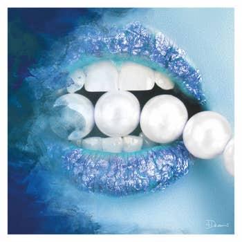 Pearls Blue AluArt