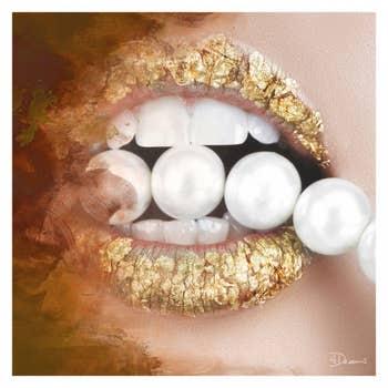 Pearls Gold AluArt