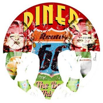 Diner Route 66 AluArt