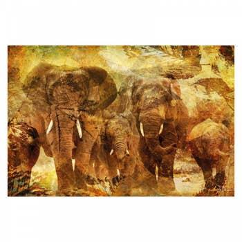 Elephants AluArt