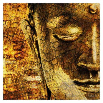 Golden Buddha AluArt