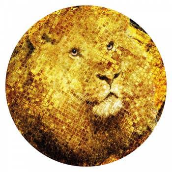 Golden Lion AluArt