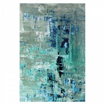 Turquoise Abstract Wall Art