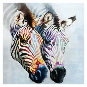 Beautiful Zebra Wall Art