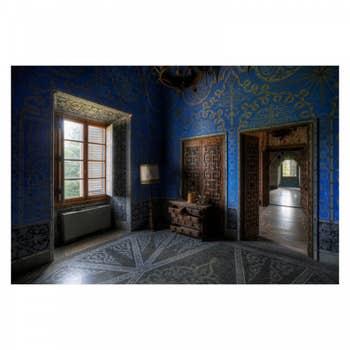 Blauwe Kamer Blue Wall Art