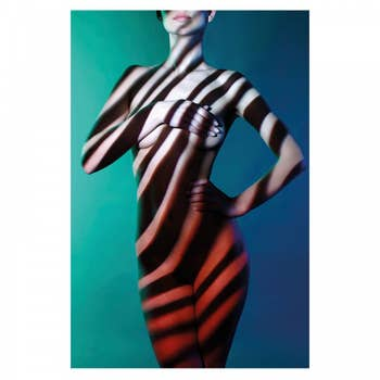 Fashion Art Lady Front AluArt