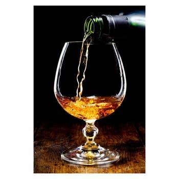 Pour Cognac Wall Art