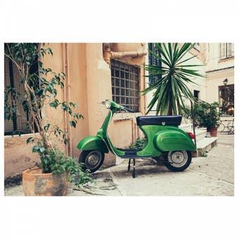 Old Italian Street AluArt