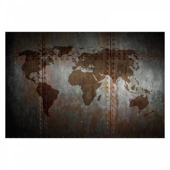 Dramatic World Map Wall Art