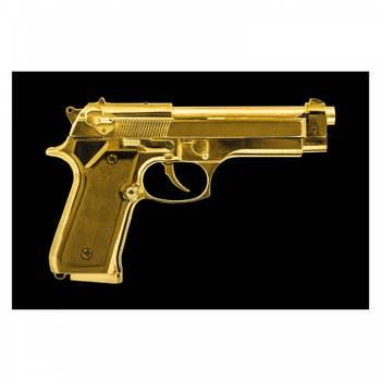 Golden Pistol AluArt