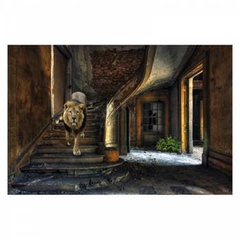 Urban Lion AluArt