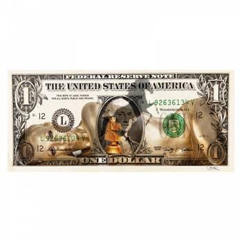 Dollar Golden Girl Wall Art