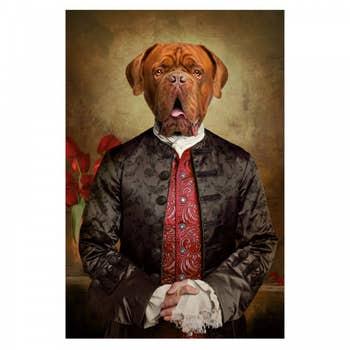 Royal Dog de Bordeaux Wall Art