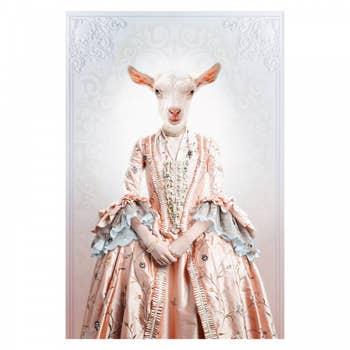 Royal Lady Goat Wall Art
