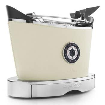 Volo Cream Leather Toaster