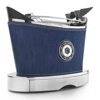 Volo Blue Denim Toaster