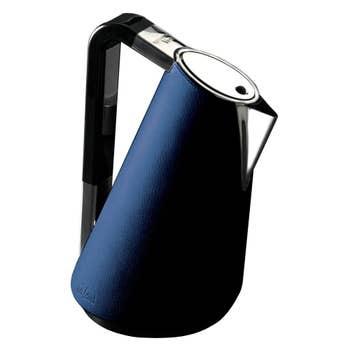 Vera Blue Leather Kettle