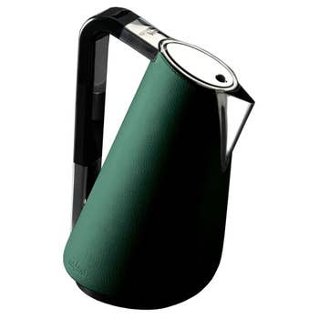 Vera Green Leather Kettle