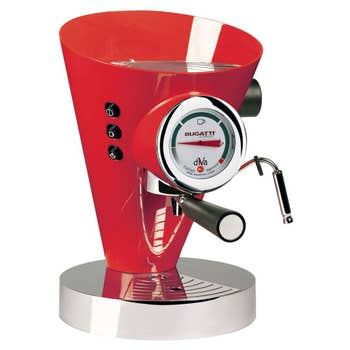 Diva Coffee Machine Red