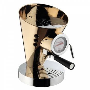 24k Gold Espresso Coffee Maker