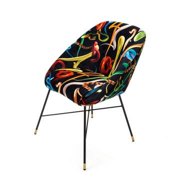 Snakes Padded Chair