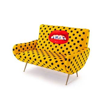 Shit Two Seater Sofa