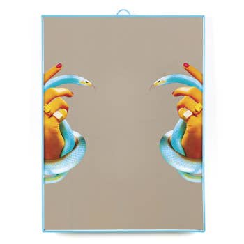 Hands with Snakes Mirror