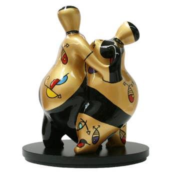 Samba Dancing Couple Sculpture