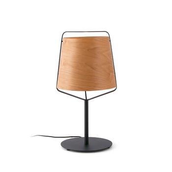 Stood Wood Table Lamp