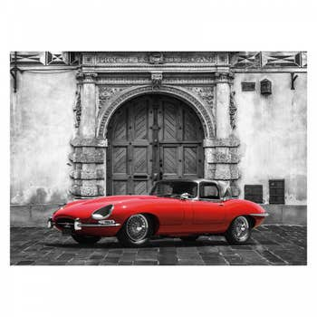 Red Roadster Wall Textile