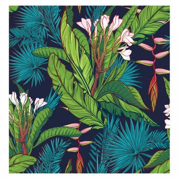 Tropical Jungle Wall Textile