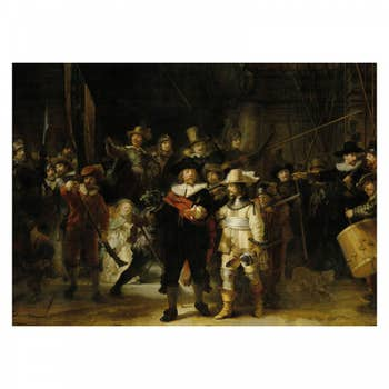 The Nightwatch Wall Textile