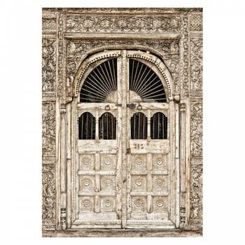 Ancient Door Wall Textile