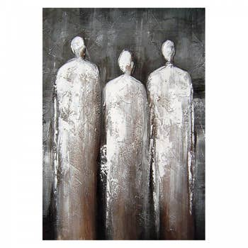3 Statues Wall Textile