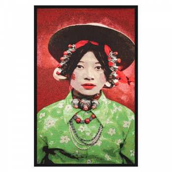 Gobelins Art Tibetian Girl