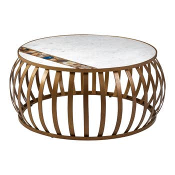 Barker Round Coffee Table