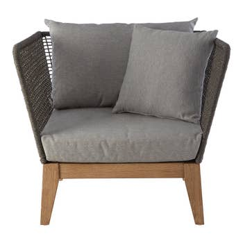 Erie Grey Armchair