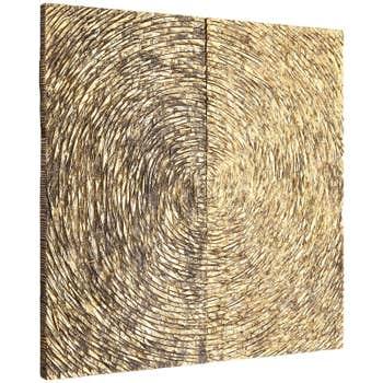 Ancona Wood Carving Wall Art