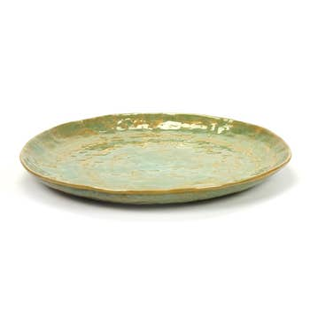 Pure Plate Green Set of 2