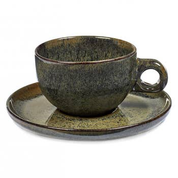 Cappuccino Cup Surface & Plate