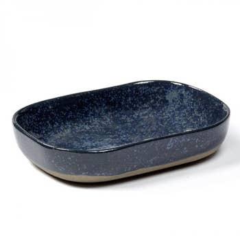 Merci Deep Plate Dark Blue