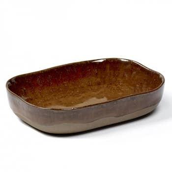 Merci Deep Plate Brown