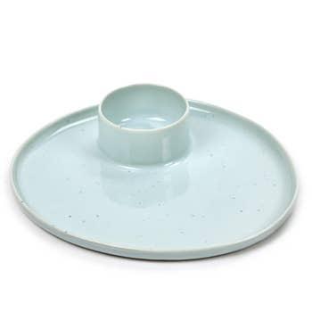 Rêves Tapas Plate Light Blue
