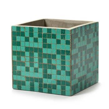 Marie Green Mosaic Pot