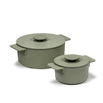 Surface Cooking Pot Green